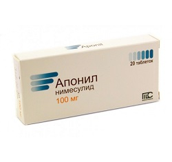 Aponil tablety 100 mg