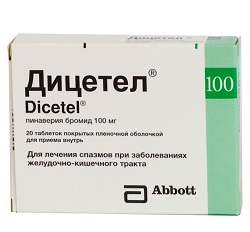 Ditsetel tablety 100 mg