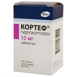 Tablety Cortef 10 mg